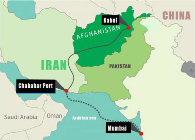 Indian Iran Chabhar trade for Afghanistan